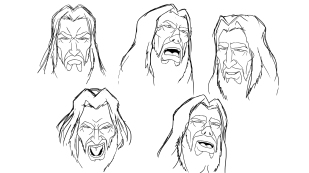 Kings-facial-expression-sheet